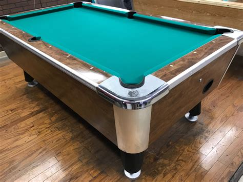 used coin operated pool tables table 061517 valley used coin operated pool table used