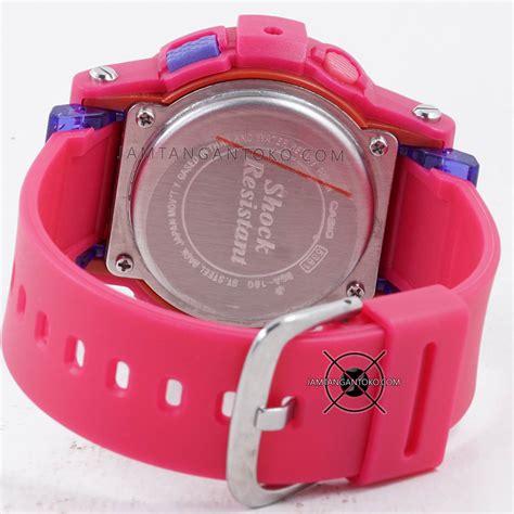 Jam Tangan Digitec Baby G Pink harga sarap jam tangan baby g bga 180 4b3 pink magenta