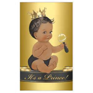 Regal Drapes African American Prince Baby Shower Gifts On Zazzle