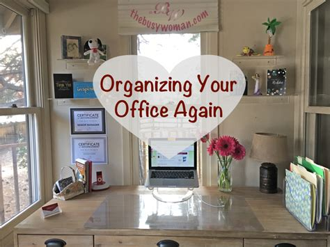 organizing your office again okay mine not yours the
