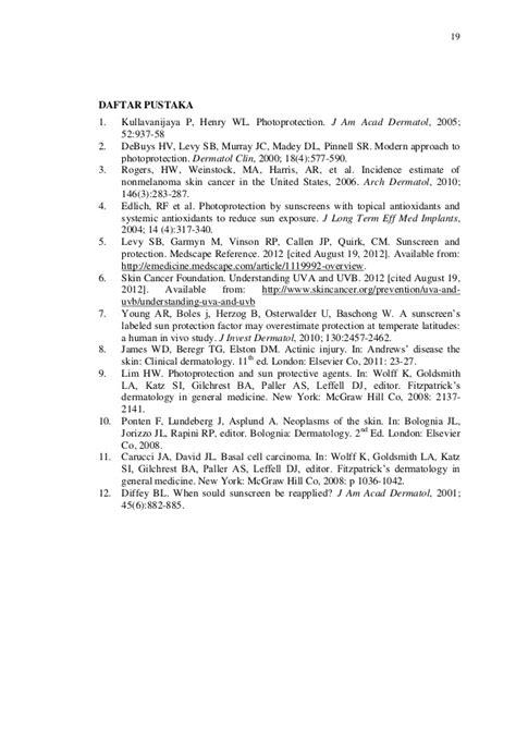 Daftar Tabir Surya tabir surya