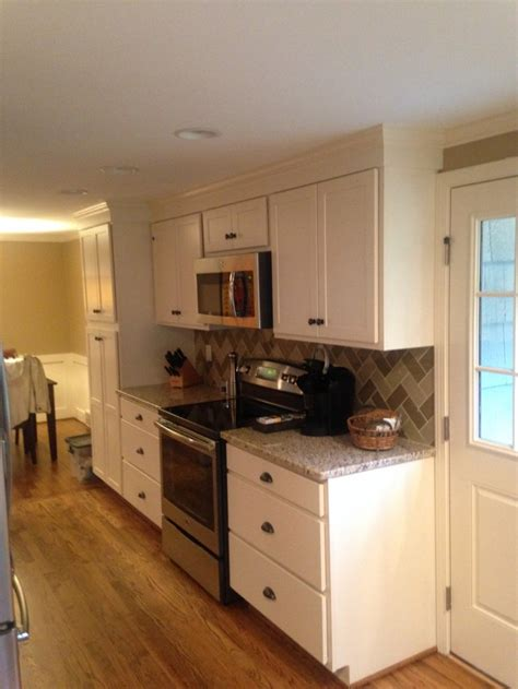 kitchen cabinets installed blaurock construction galley kitchen cabinet installation