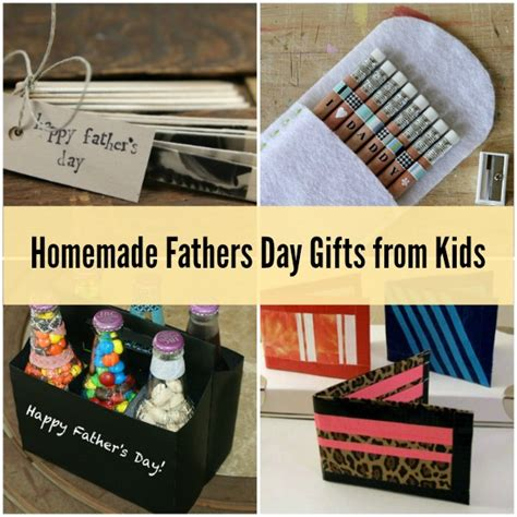 Handmade Fathers Day Presents - fathers day gifts from 8 special ideas