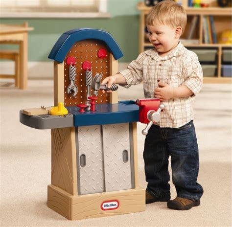 kids play bench kids workbench toy workshop play tool set hammer nail saw