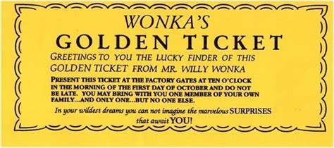 The Rant Returned I Ve Got A Golden Ticket Golden Ticket Template Word
