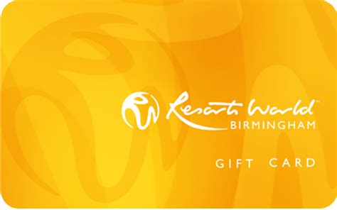 Perfect World Gift Cards - resorts world birmingham gift vouchers gift cards and gift certificates flex e