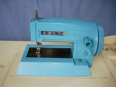 portable sewing machine table marx toys sew big vintage portable sewing