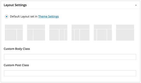 Wordpress Genesis Layout   understanding and using genesis layout settings