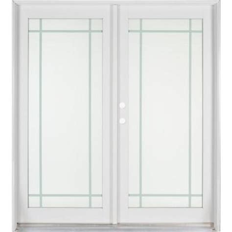 home depot interior french doors ashworth professional series 72 in x 80 in white
