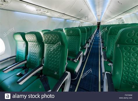 passenger cabin of a boeing 737 800 of the transavia