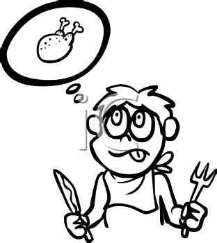 hungry boy coloring page hungry clipart many interesting cliparts