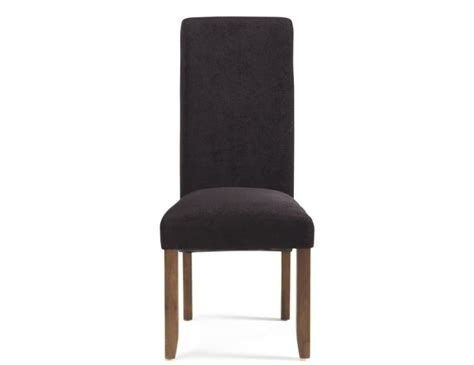 Aubergine Dining Chairs Haycroft Aubergine Fabric And Walnut Dining Chairs Frances Hunt