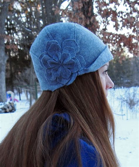 pattern for felt hat how to sew a cute cloche hat 4
