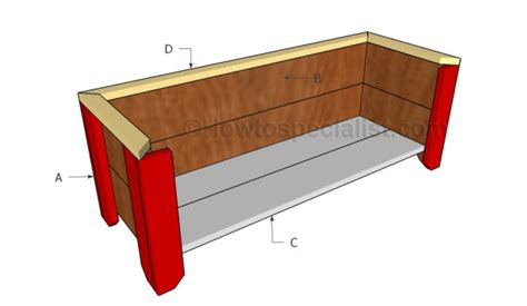 Simple Planter Box by Simple Planter Box Plans Howtospecialist How To Build