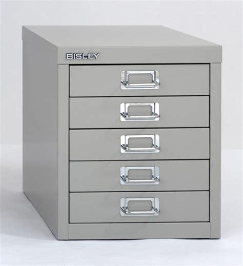 bisley 5 drawer desktop multi drawer cabinet in bright