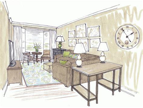 interior design bedroom sketches room sketch home design simple interior sketches into