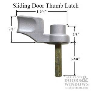 pella sliding door thumb turn pella thumb latch