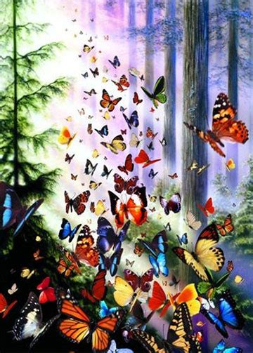 Jigsaw Puzzle Perre Butterfly World Map 1000 Pieces butterfly woods jigsaw puzzle puzzlewarehouse