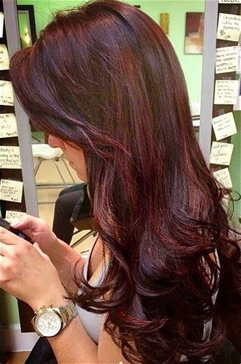 fall highlights for brown hair winter fall 2015 hair color trends guide simply