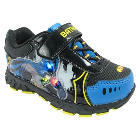 Light Up Shoes For Toddler Boy by Toddler Boy S Batman Light Up Sneakers Black Target