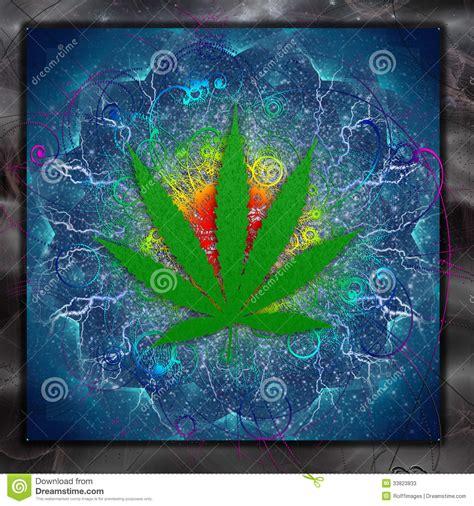 Ganja Abstact marijuana stock photos image 33823833