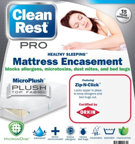 Do You Wash Mattress Protectors by Clean Rest Pro Waterproof Allergy And Bed Bug Blocking