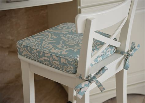 Custom Indoor Chair Cushions - custom chair pads choose your size design easy