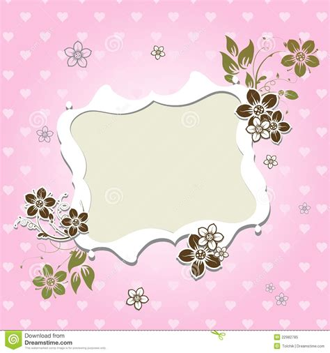 Plain Greeting Card Template