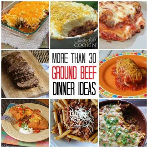 dinner ideas for hamburger meat ground beef dinner ideas 30 recipes for supper