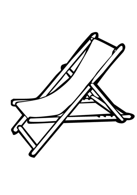 deck chair template chair coloring pages getcoloringpages