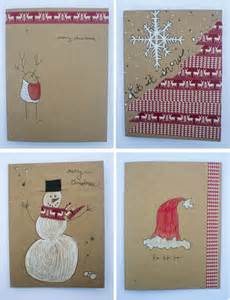 frugal holidays easy diy washi cards bring