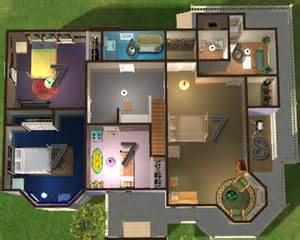 sims 2 floor plans mod the sims classics 2 furnished and unfurnished