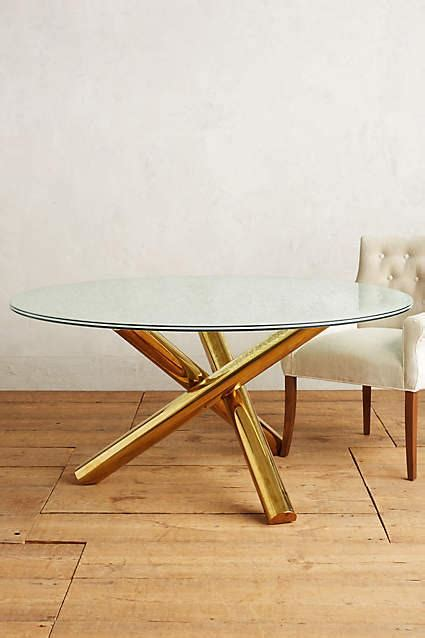 gold and glass dining table gold legs crackled glass dining table