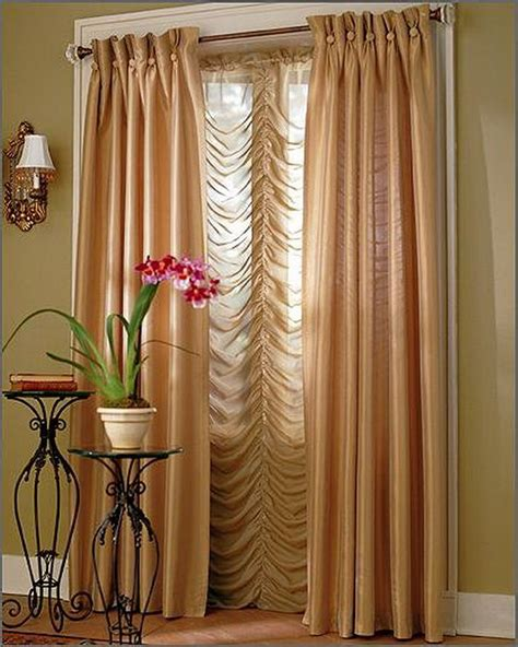 curtain in living room interior design
