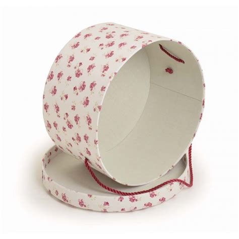 Pretty Bookcases Vintage Style Floral Hat Boxes