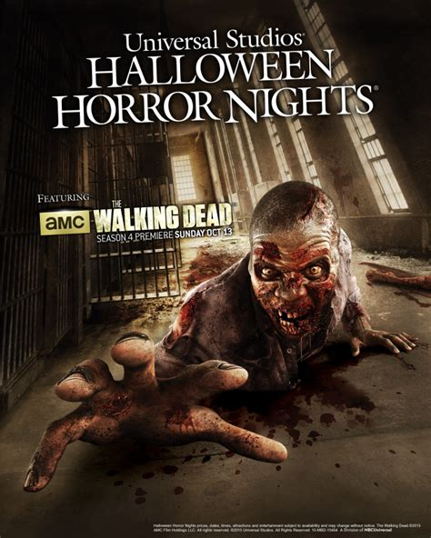 themes of halloween horror nights the walking dead to theme universal s halloween horror
