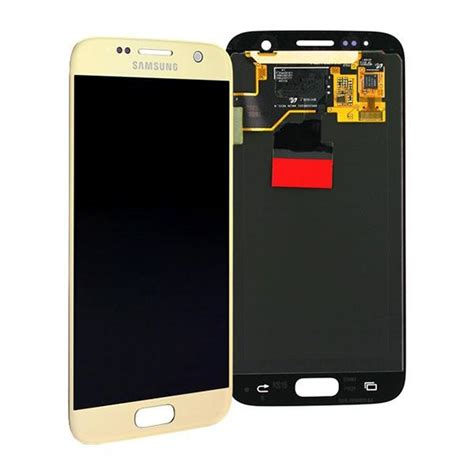 display lcd samsung  galaxy  flat dourado peg