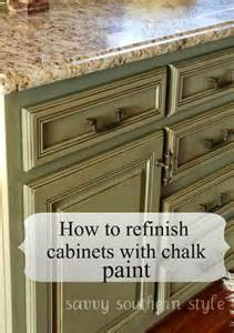 Using Chalk Paint On Kitchen Cabinets 11 Inexpensive Ways To Rev Your Kitchen Cabinets