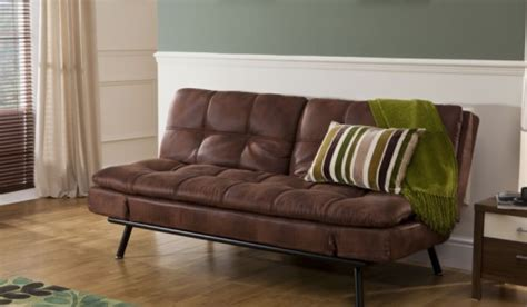texas faux leather sofa bed bensons  beds