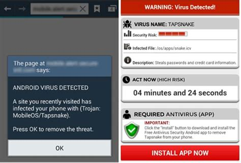 virus on android message on my android that battery is infected by virus newhairstylesformen2014