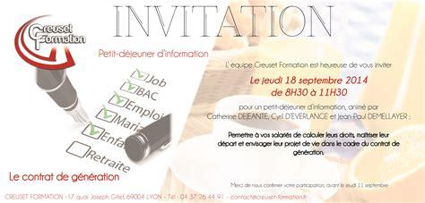Exemple De Lettre D Invitation Humoristique Modele Invitation A Dejeuner Professionnel Document