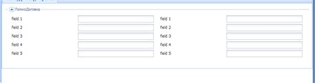 extjs layout event layout extjs dynamic number of columns stack overflow