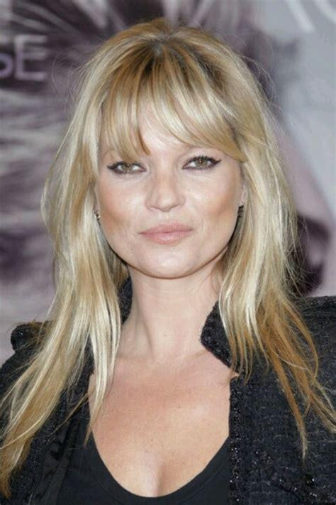 Kate Moss Cuts Bangs Em Or Em by Kate Moss Hair