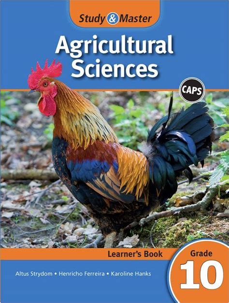 agricultural science study master agricultural sciences learner s book grade