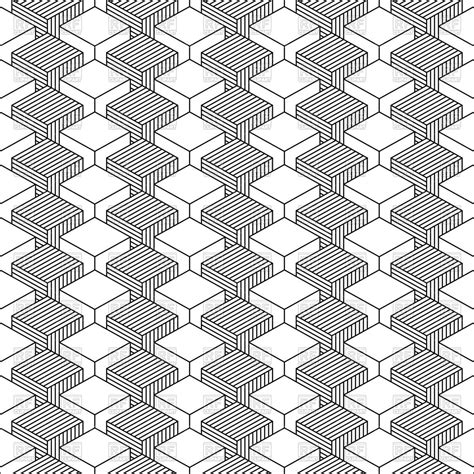 grey pattern clipart gray and white seamless cube pattern royalty free vector