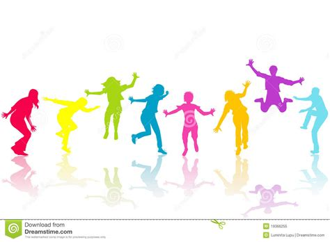 where are the people of color in childrens books the hand drown children colored silhouettes stock vector