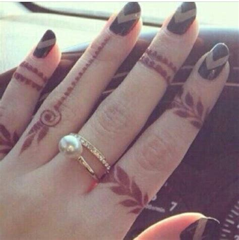 simple finger tattoo designs 7innaty mehndi henna henna
