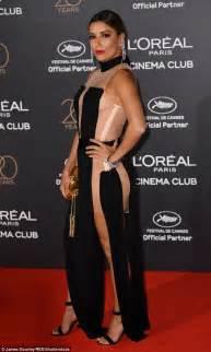eva longoria ups the glamour for loreal paris fashion eva longoria and jose antonio bast 243 n party in cannes