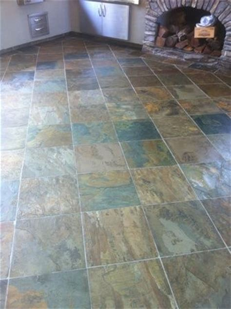 slate countertops granite floors tile grout home 1000 images about slate kitchen floors on pinterest the