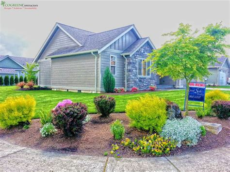 4 year corner lot landscaping in lynden wa 98264